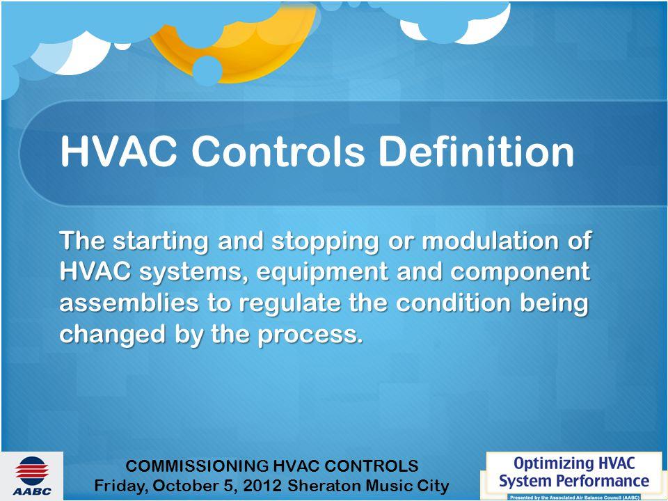 HVAC Controls Definition