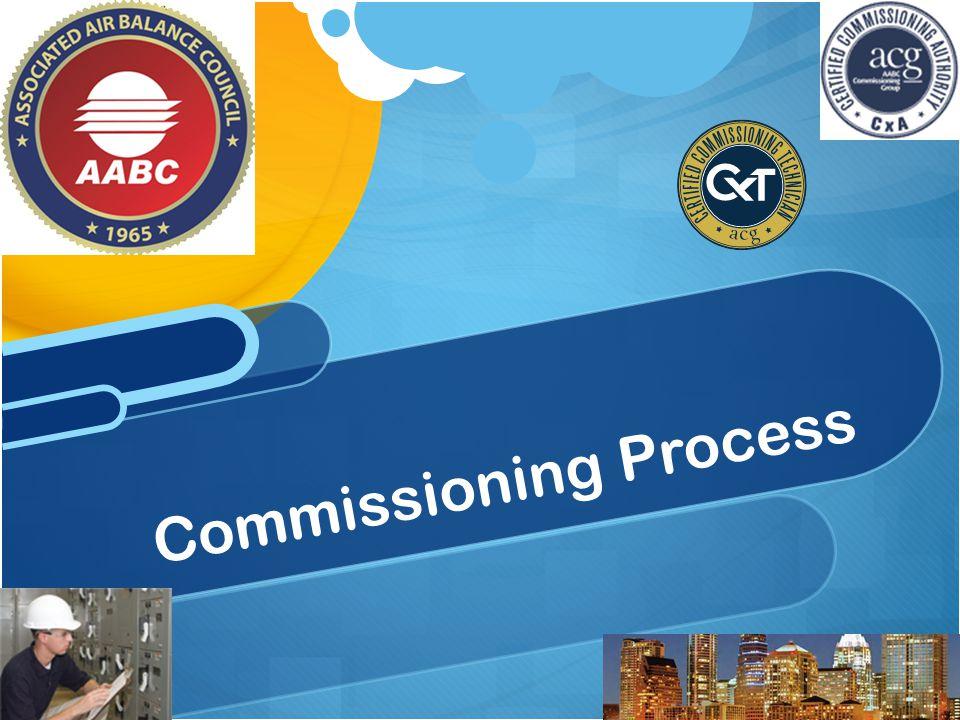 Commissioning Process