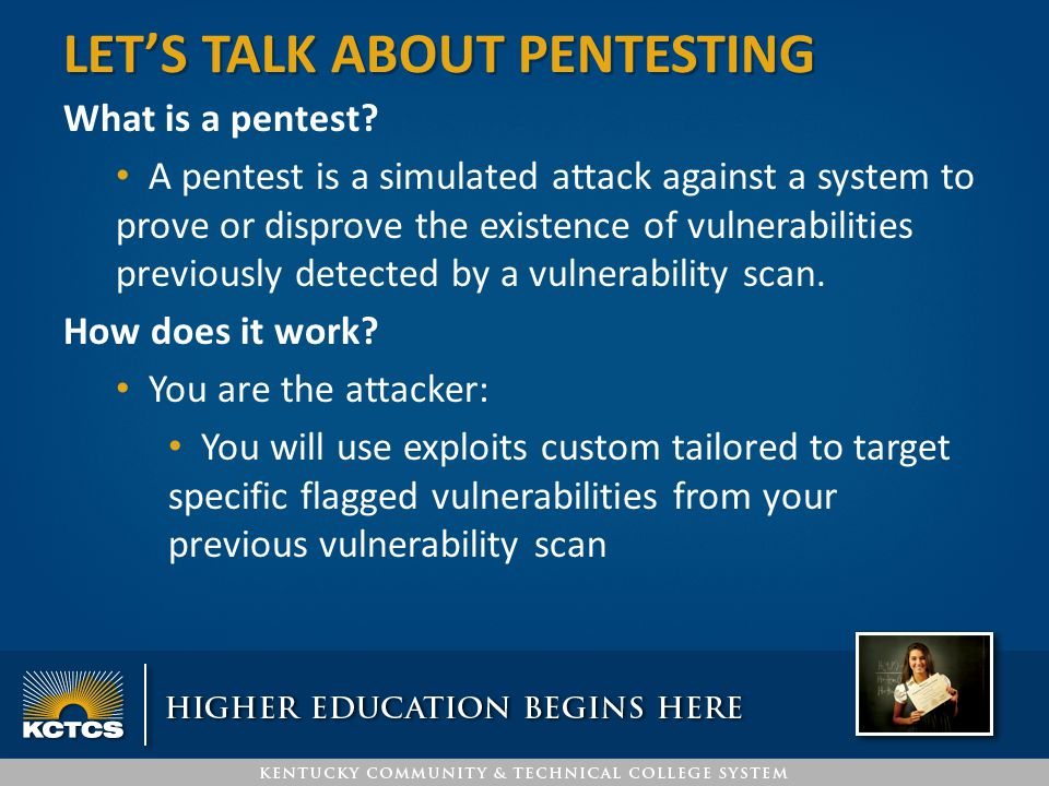 Let's Talk About Pentesting