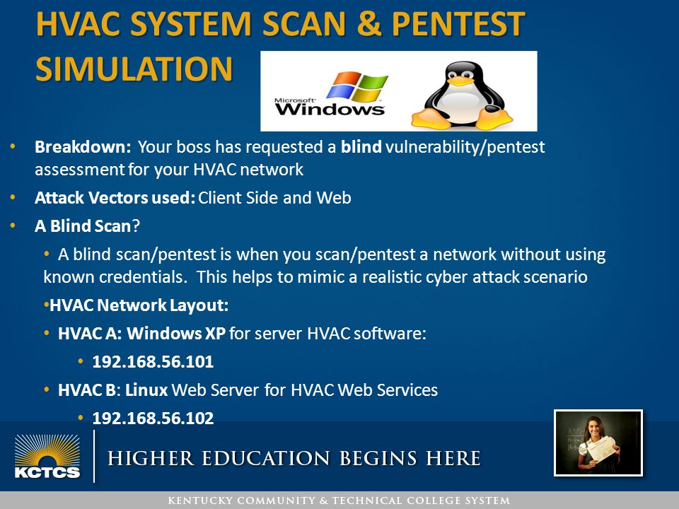 HVAC system SCAN & Pentest simulation