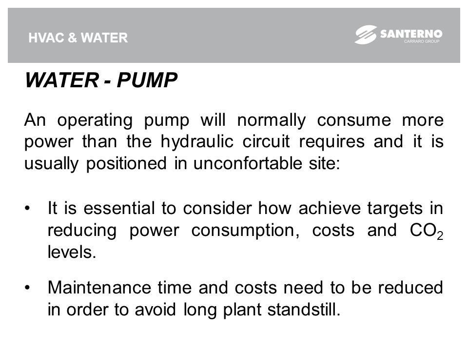 HVAC & WATER WATER - PUMP.