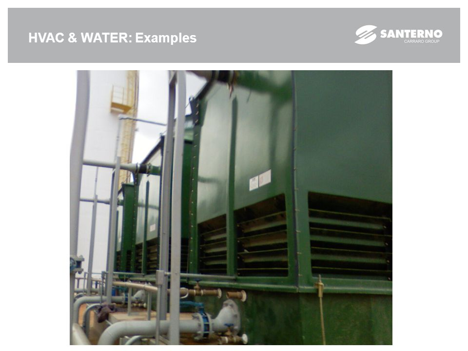 HVAC & WATER: Examples