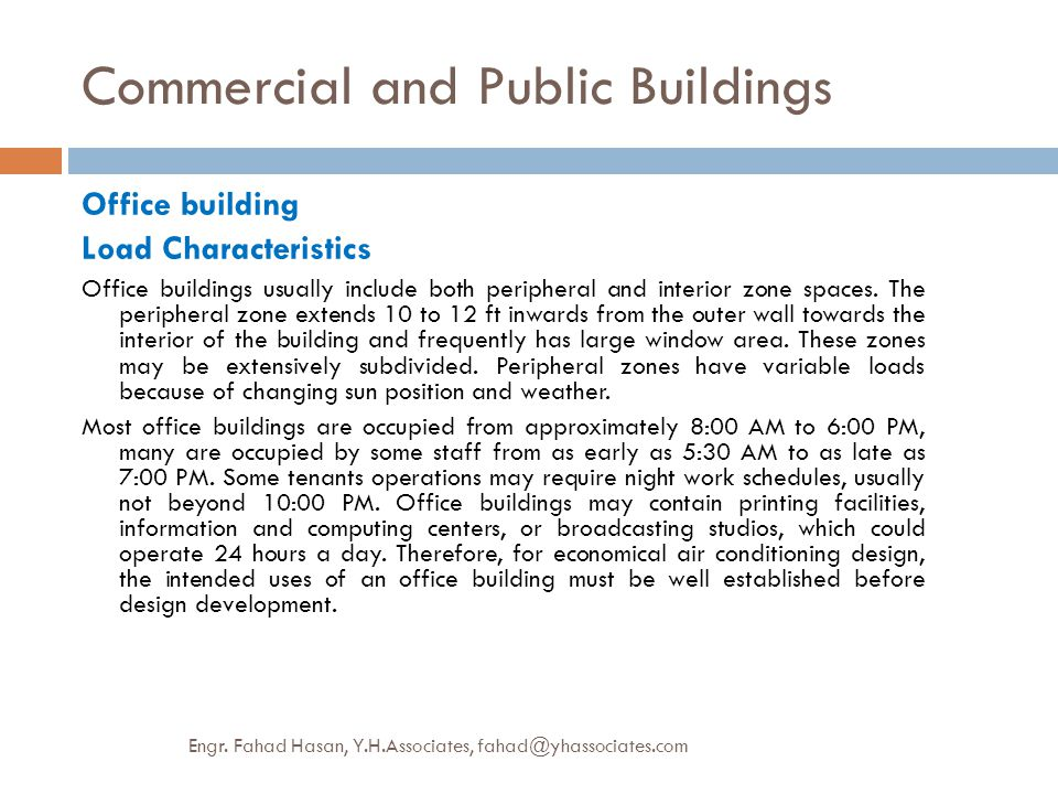Commercial and Public Buildings