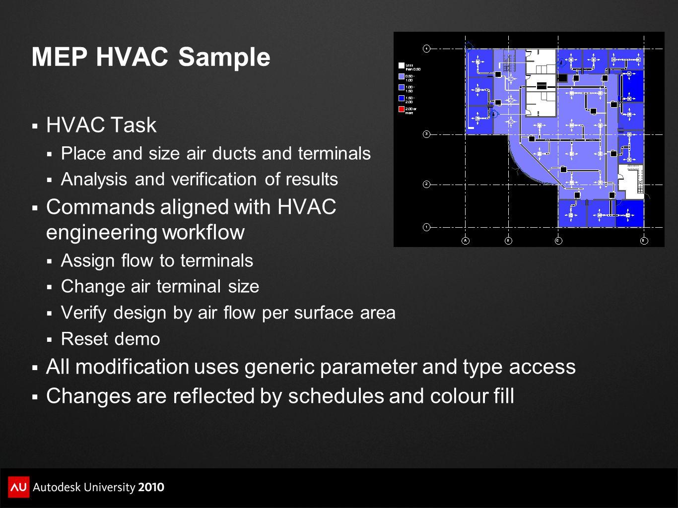 MEP HVAC Sample HVAC Task