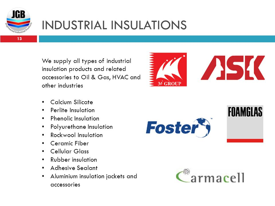 INDUSTRIAL INSULATIONS
