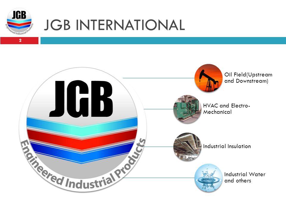 JGB INTERNATIONAL Oil Field(Upstream and Downstream)