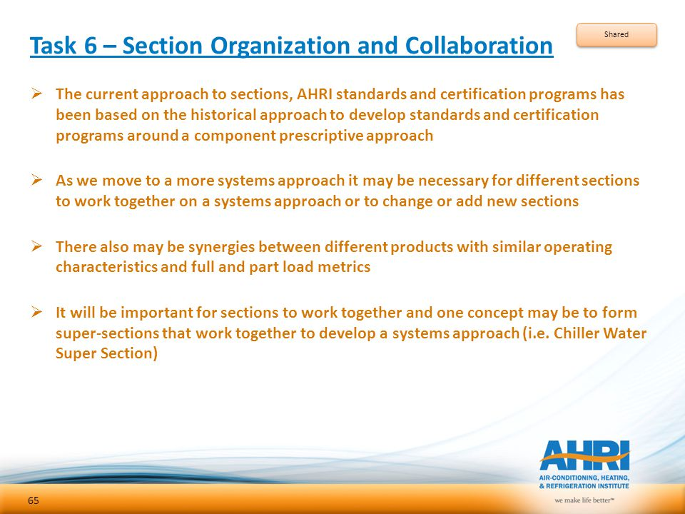 Task 6 – Section Organization and Collaboration