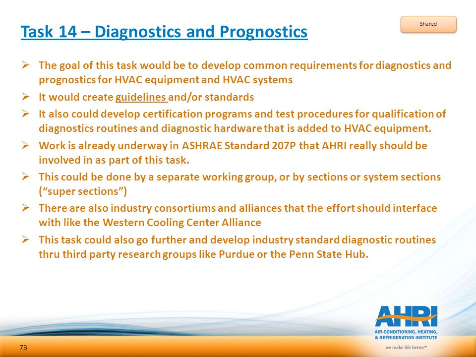 Task 14 – Diagnostics and Prognostics