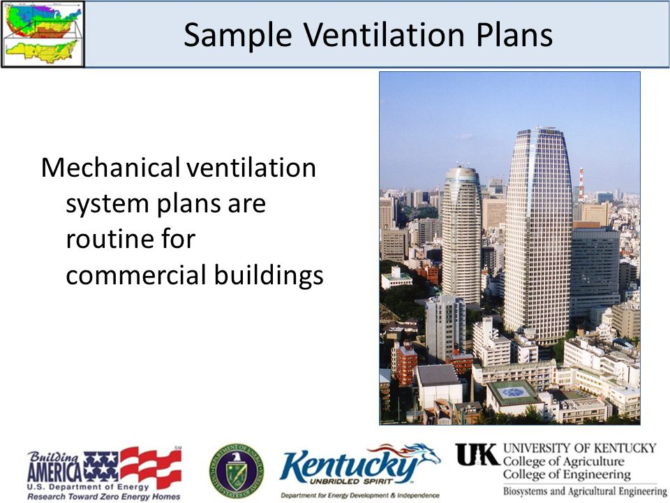 Sample Ventilation Plans