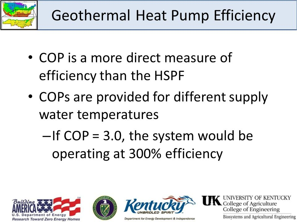 Geothermal Heat Pump Efficiency