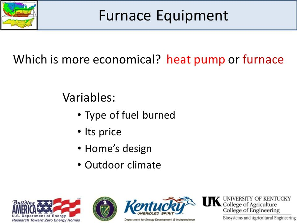 Which is more economical heat pump or furnace