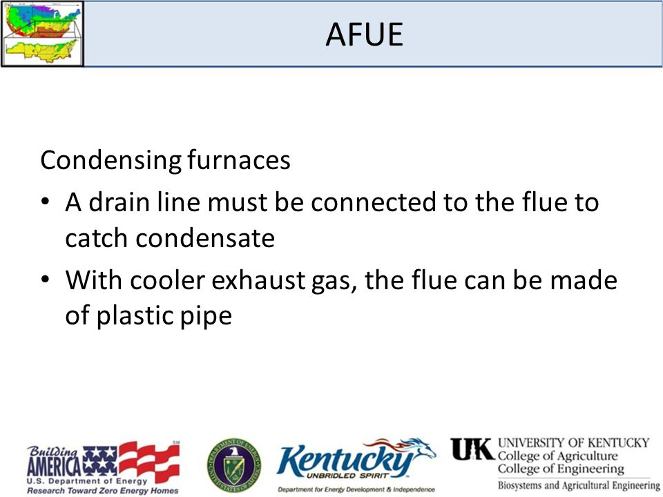 AFUE Condensing furnaces