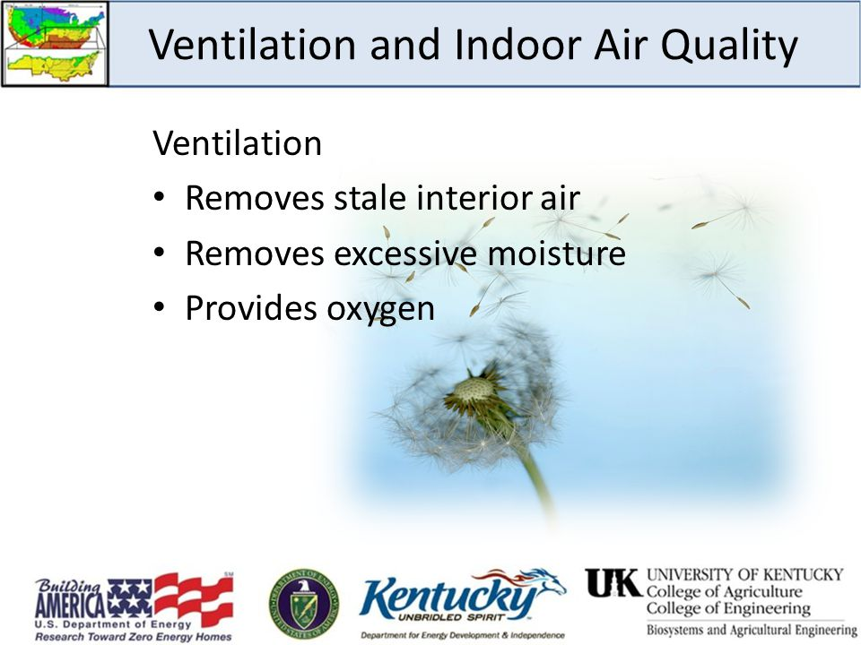 Ventilation and Indoor Air Quality