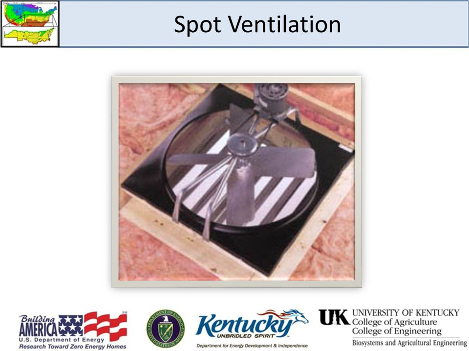 Spot Ventilation