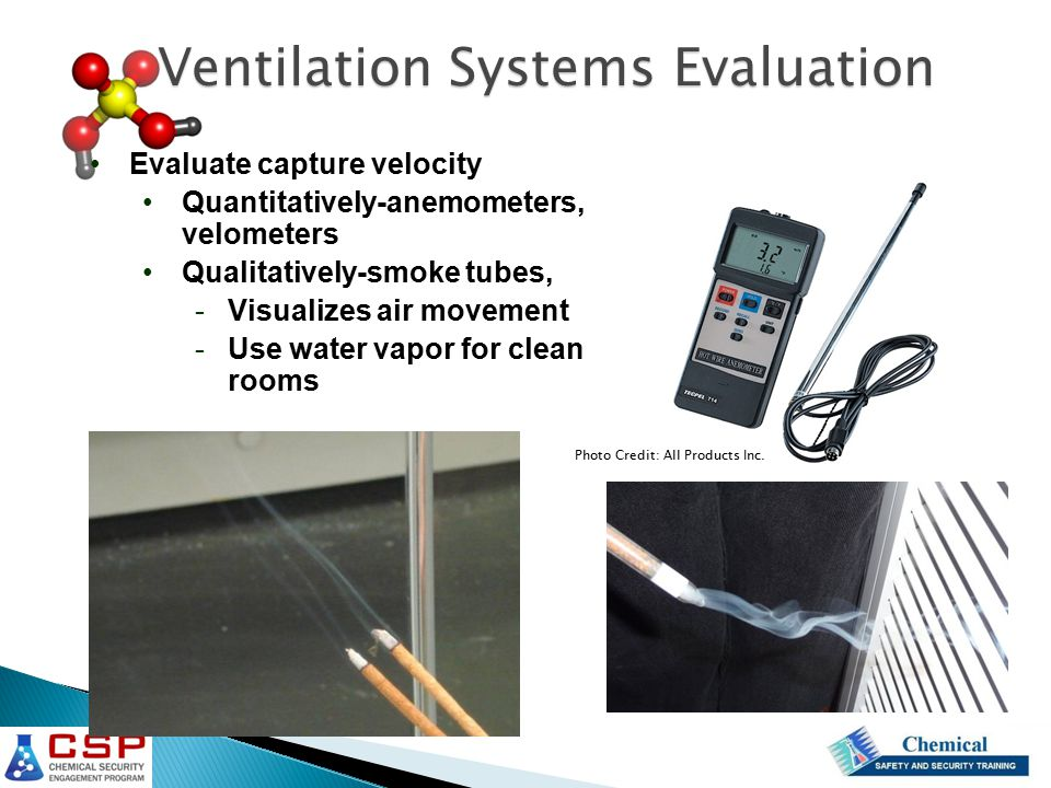 Ventilation Systems Evaluation