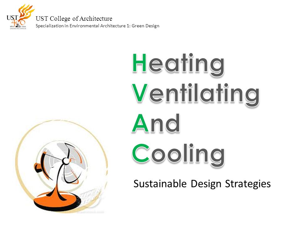 Heating Ventilating And Cooling Sustainable Design Strategies