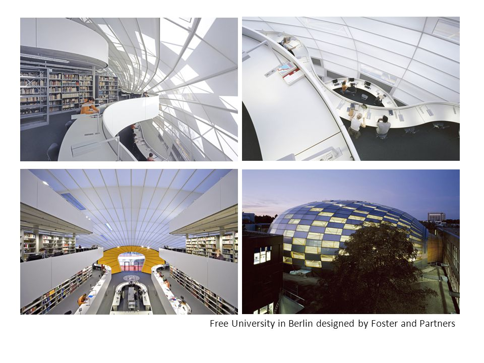 Free University in Berlin designed by Foster and Partners