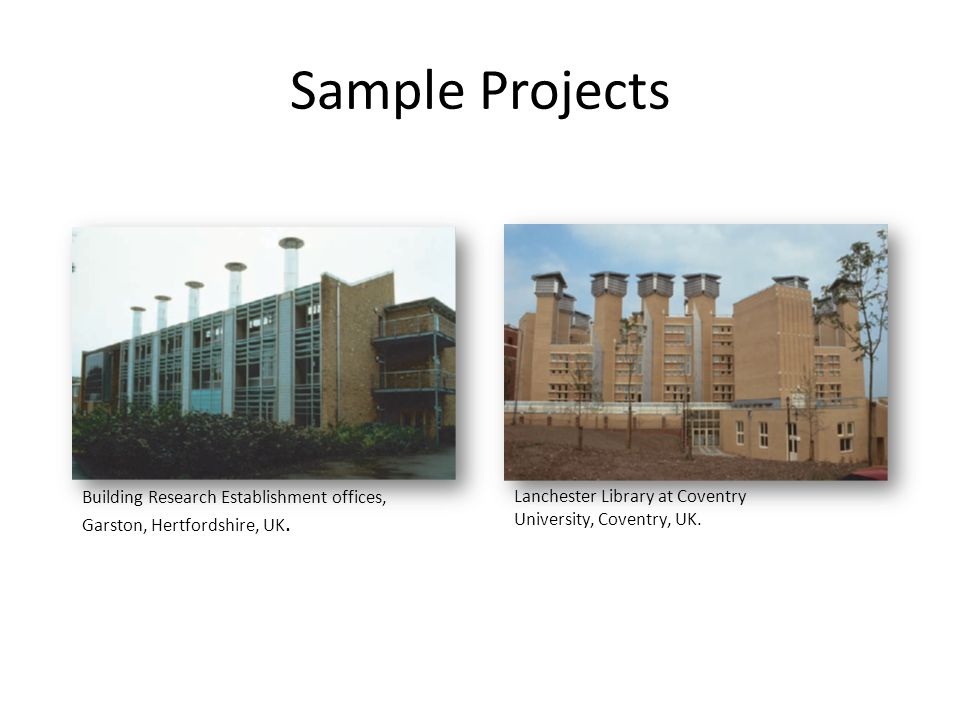 Sample Projects Building Research Establishment offices,