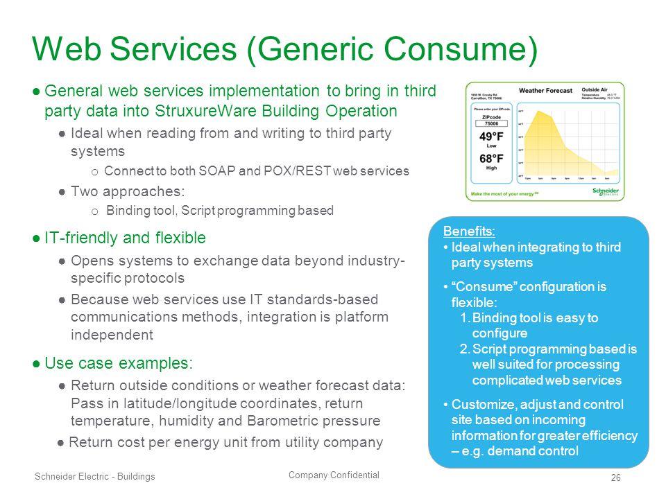 Web Services (Generic Consume)
