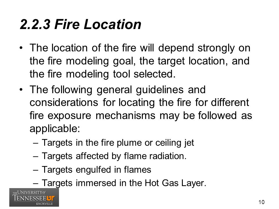 2.2.3 Fire Location