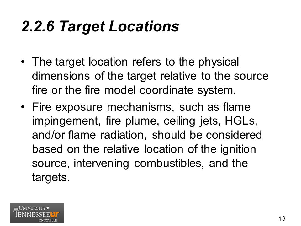2.2.6 Target Locations