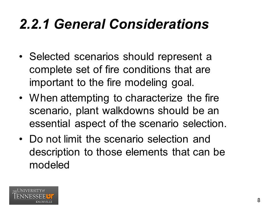 2.2.1 General Considerations