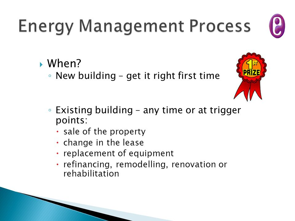 Energy Management Process
