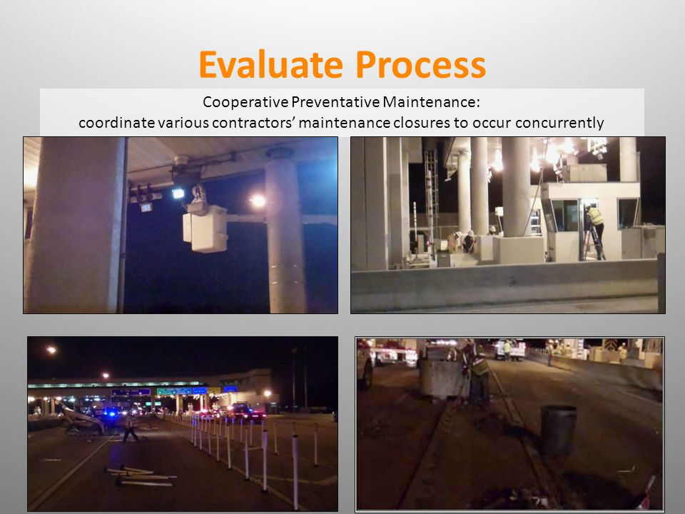 Cooperative Preventative Maintenance: