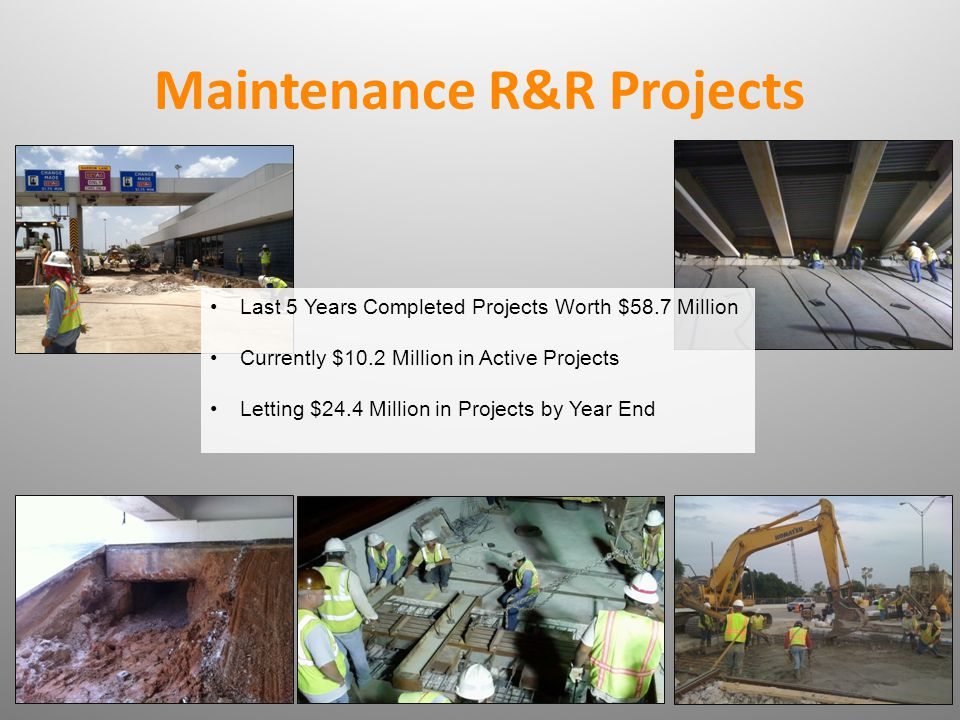 Maintenance R&R Projects