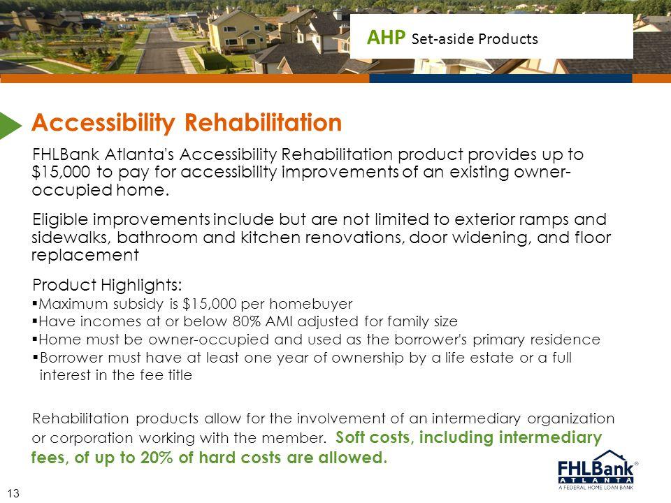Accessibility Rehabilitation