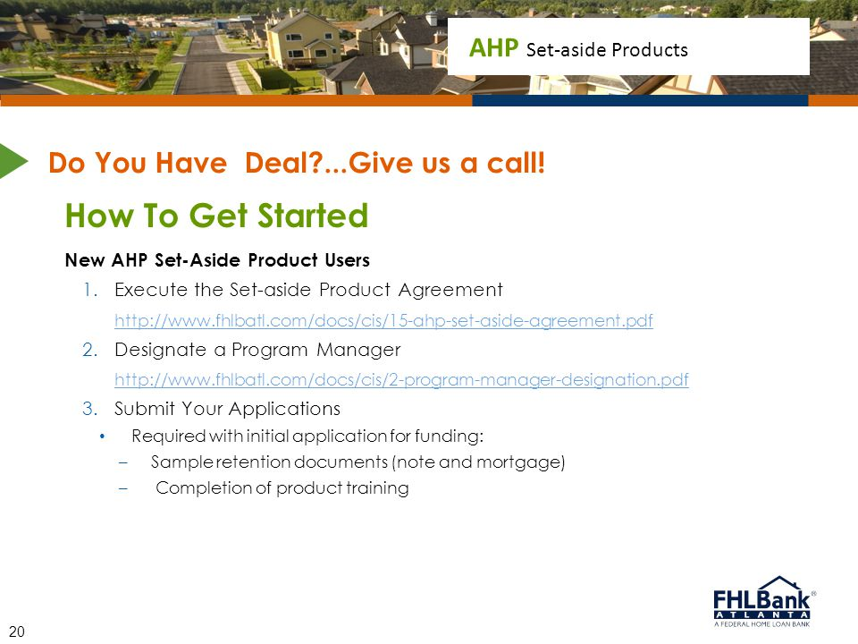 Do You Have Deal ...Give us a call!