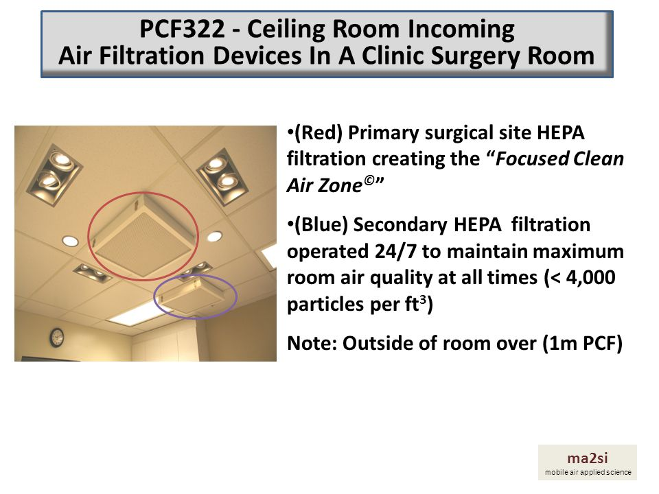 PCF322 - Ceiling Room Incoming