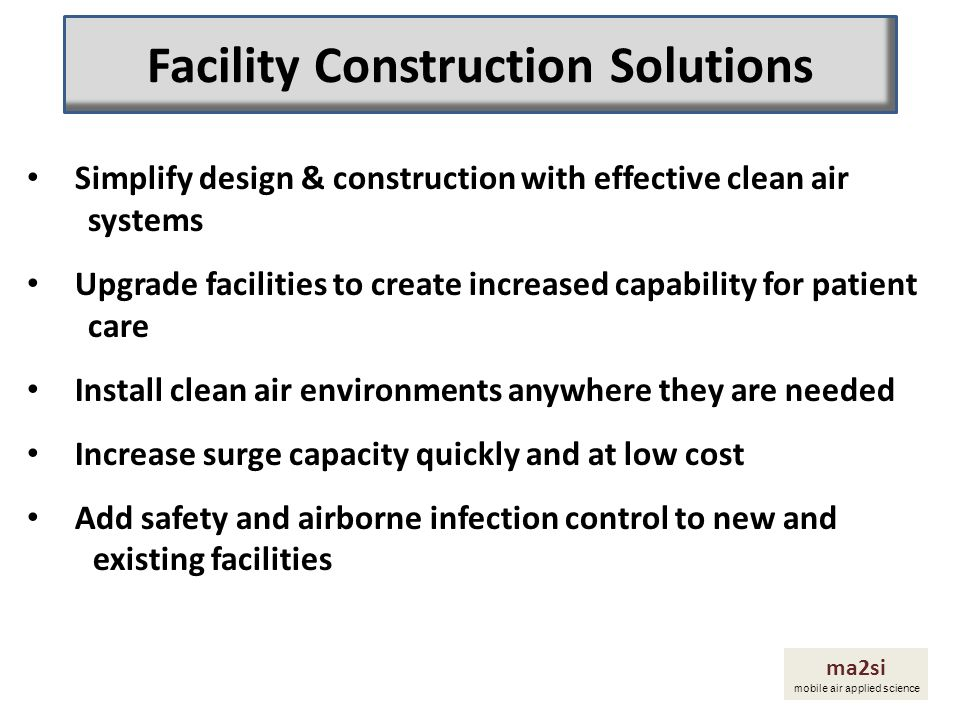 Facility Construction Solutions