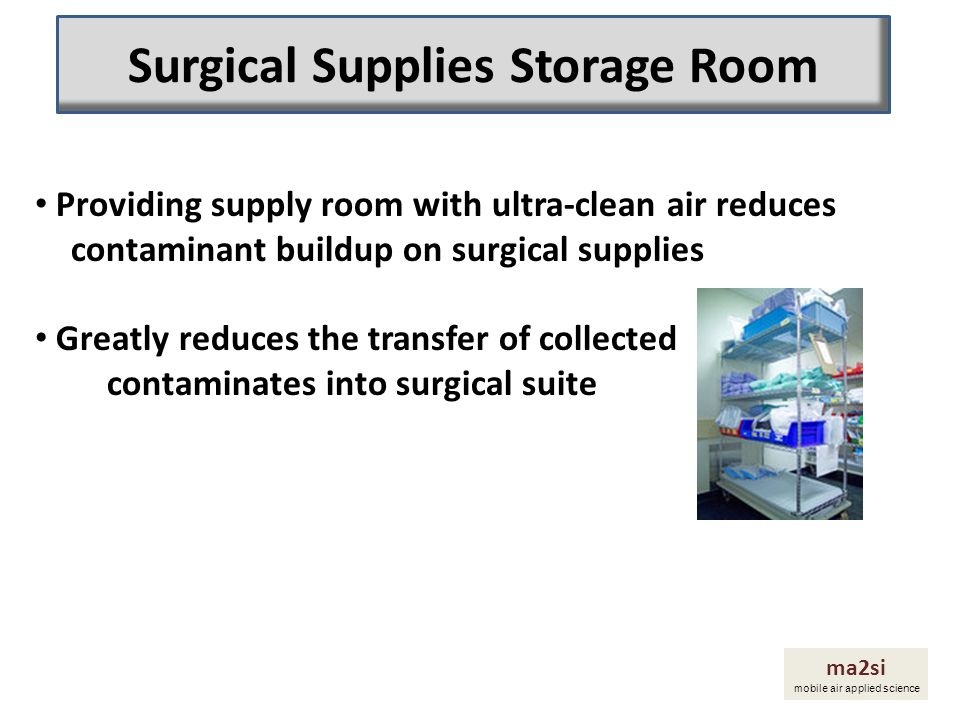 Surgical Supplies Storage Room
