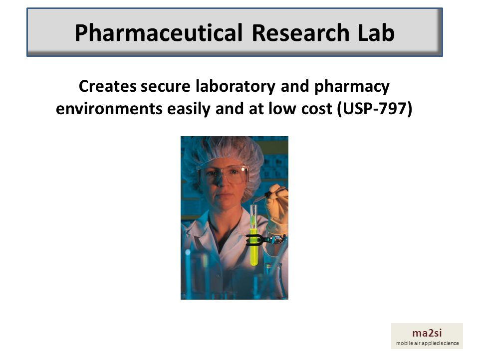 Pharmaceutical Research Lab