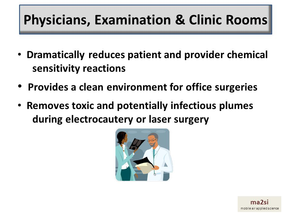 Physicians, Examination & Clinic Rooms