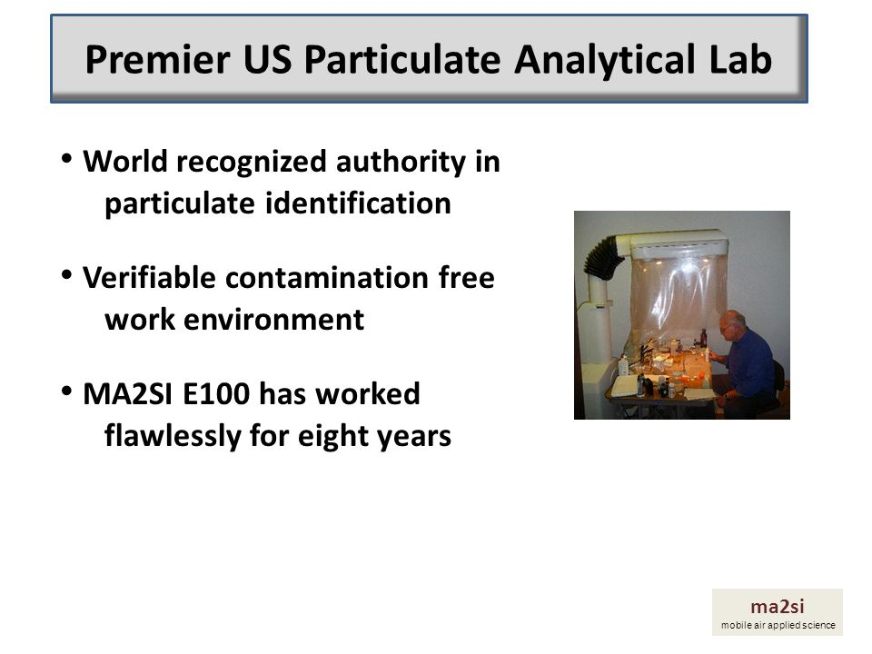 Premier US Particulate Analytical Lab