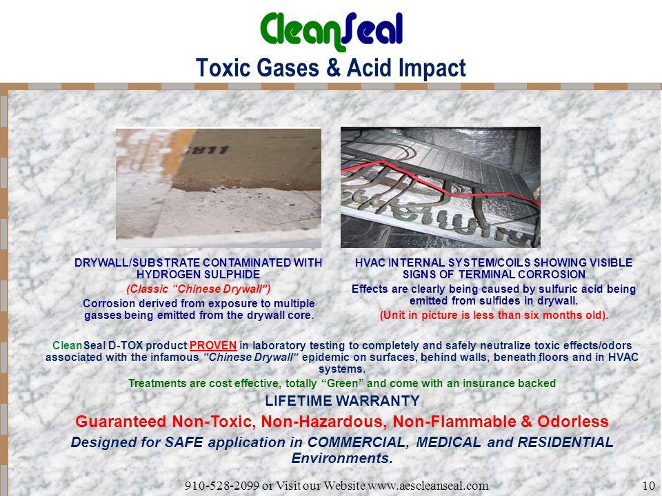 Toxic Gases & Acid Impact