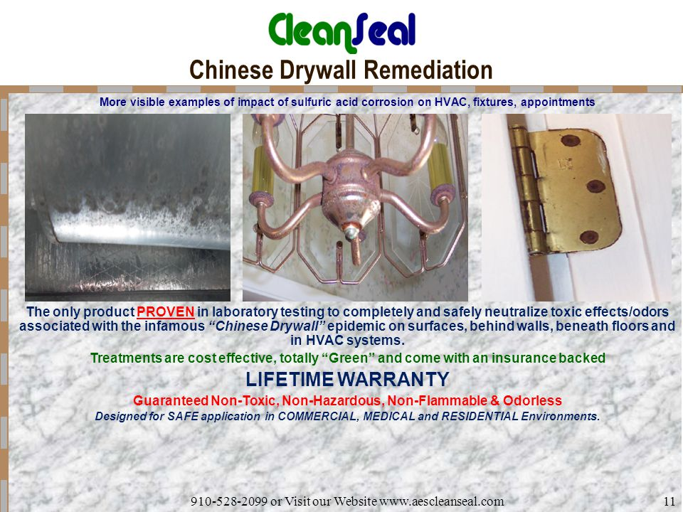 Chinese Drywall Remediation