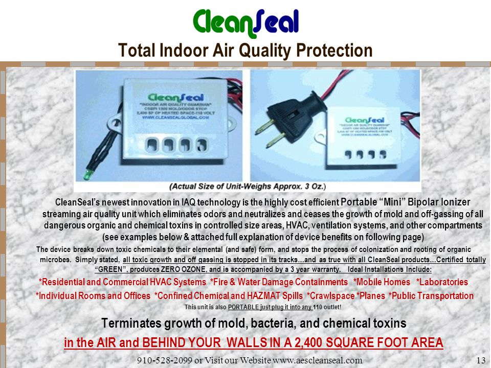 Total Indoor Air Quality Protection
