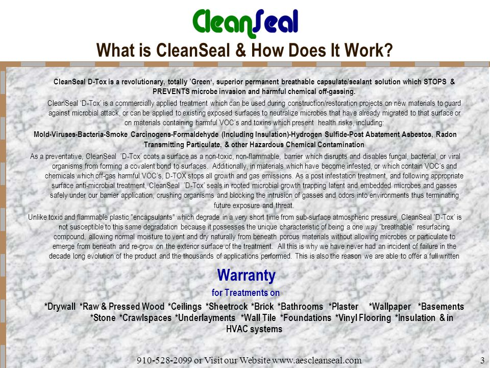 What is CleanSeal & How Does It Work