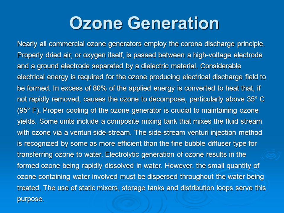 Ozone Generation
