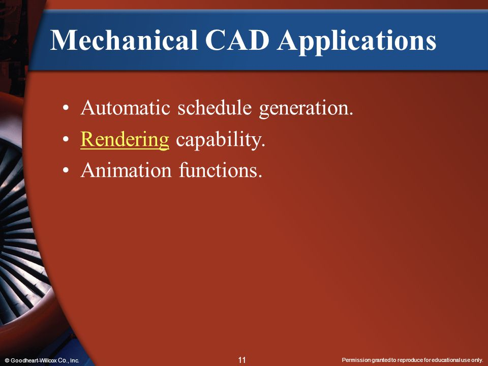 Mechanical CAD Applications