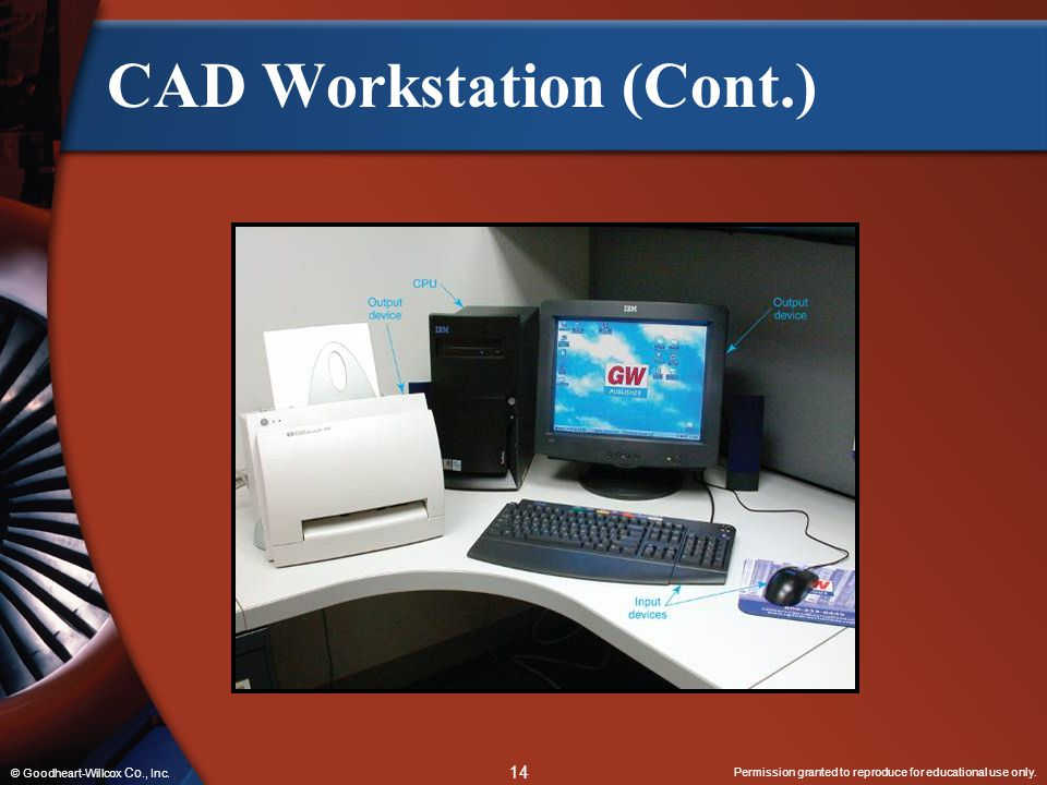 CAD Workstation (Cont.)