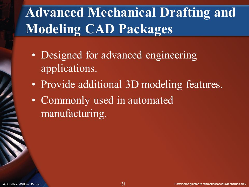 Advanced Mechanical Drafting and Modeling CAD Packages