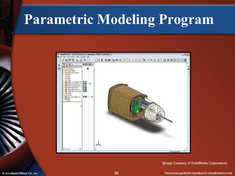 Parametric Modeling Program