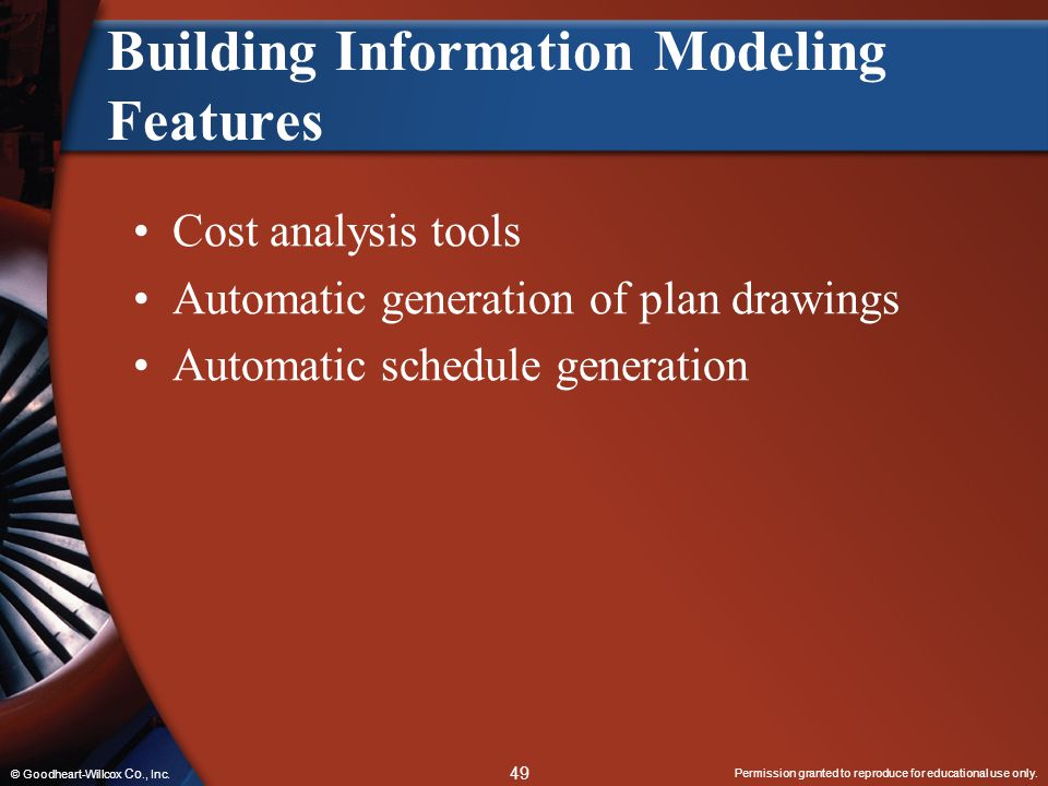 Building Information Modeling Features