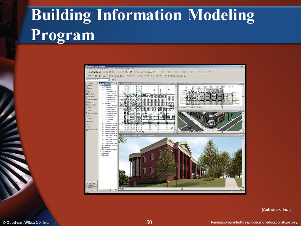Building Information Modeling Program