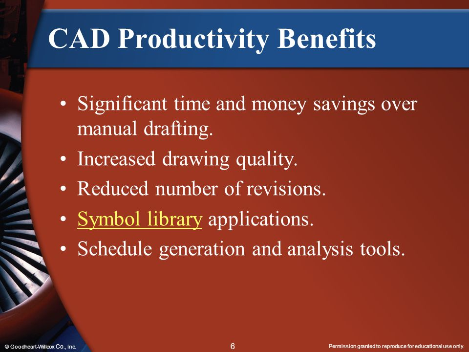 CAD Productivity Benefits