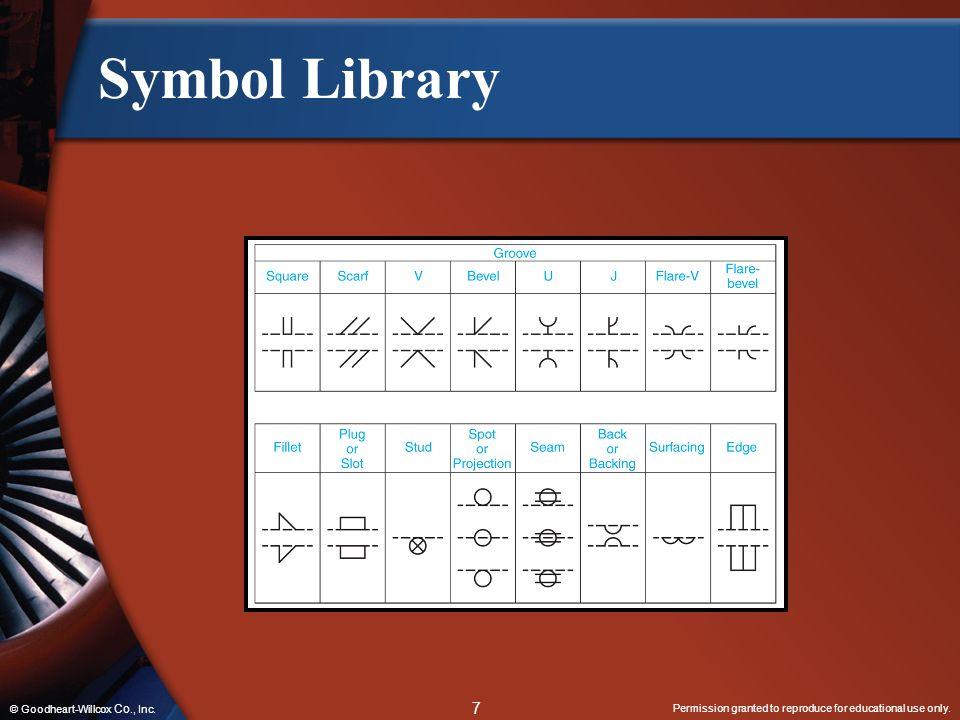 Symbol Library © Goodheart-Willcox Co., Inc.